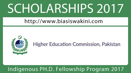 Indigenous PH.D. Fellowship Program 2017