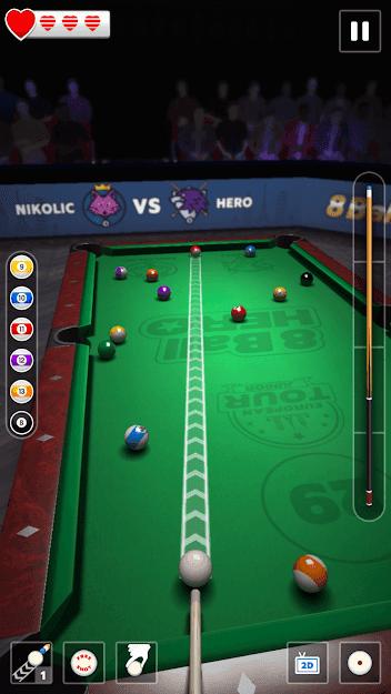 8 Ball Hero v 1.17 apk mod DINHEIRO INFINITO