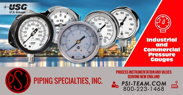 Industrial Process and Commercial Pressure Gauges