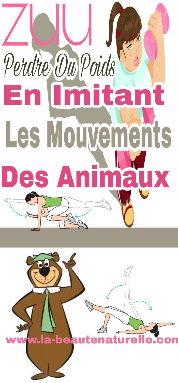 Zuu, perdre du poids en imitant les mouvements des animaux