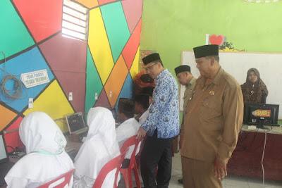 Kakankemenag Tanjungbalai Monitoring Simulasi UAMBN-BK