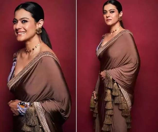 Kajol's Gorgeous Saree: Do You Also Want To Know The Price Of Kajol's Saree?