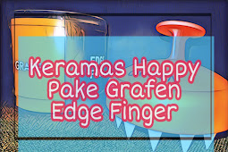 Keramas Makin Menyenangkan dengan Sisir Keramas Grafen Edge Finger