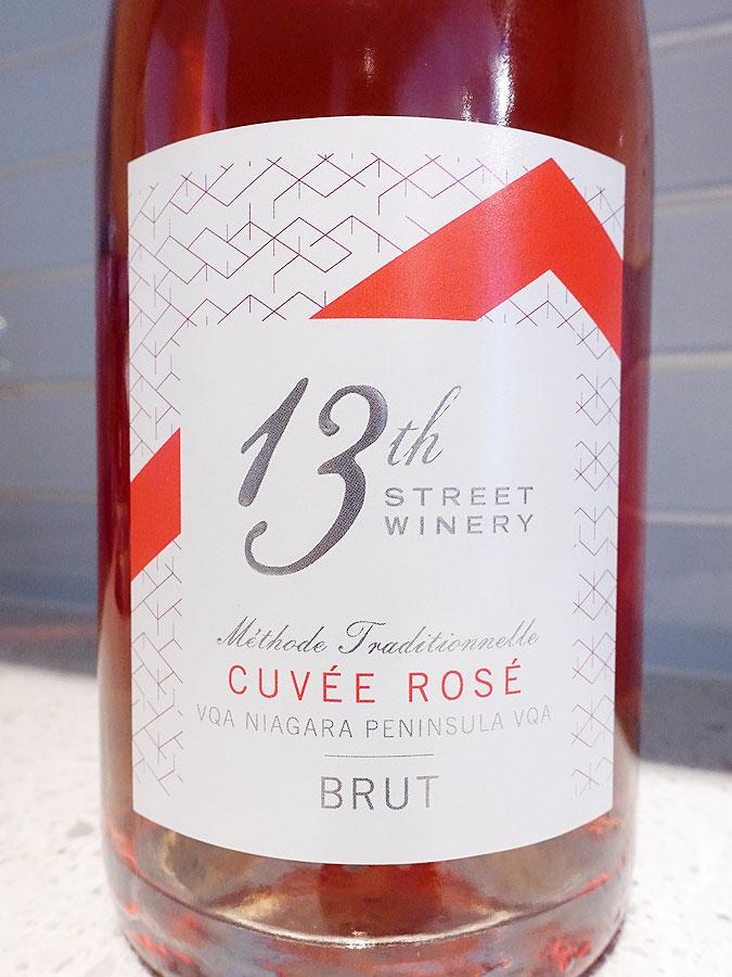 13th Street Cuvée Brut Rosé (89 pts)