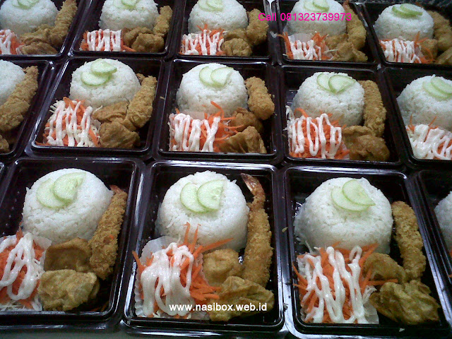 Nasi box ala rocket chicken
