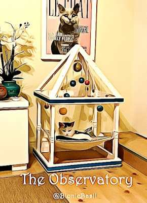 The Observatory @BionicBasil® Crafting with Cats