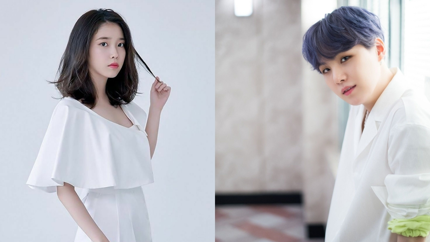 IU Releases First Teaser for Collaboration Song with BTS' Suga