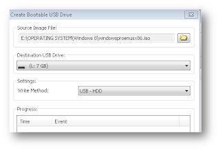 Cara Membuat Bootable USB Atau Bootable Flashdisk Dengan Mudah