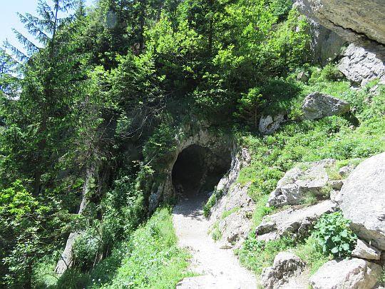 Otwór wejściowy do Jaskini Mylnej.
