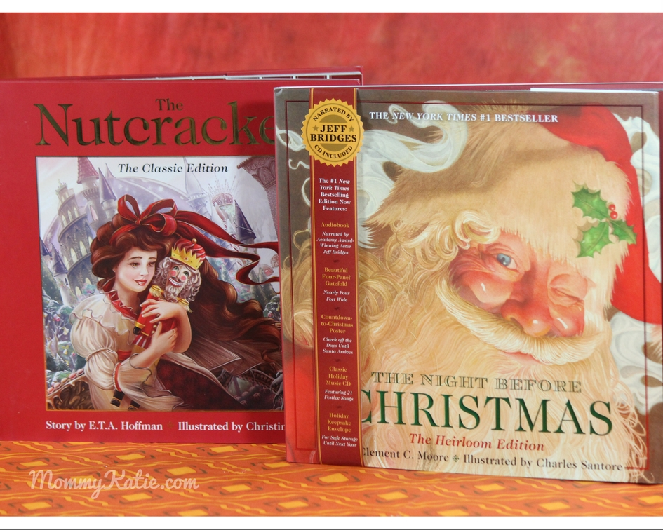Holiday Gift Ideas The Night Before Christmas Heirloom Edition The Nutcracker Mommy Katie
