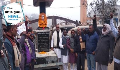 अमर शहीद जगदेव प्रसाद की समारोह पूर्वक मनाई गई जयंती