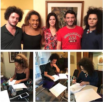 Banda As Bahias e a Cozinha Mineira fecha contrato com FAZ Produções