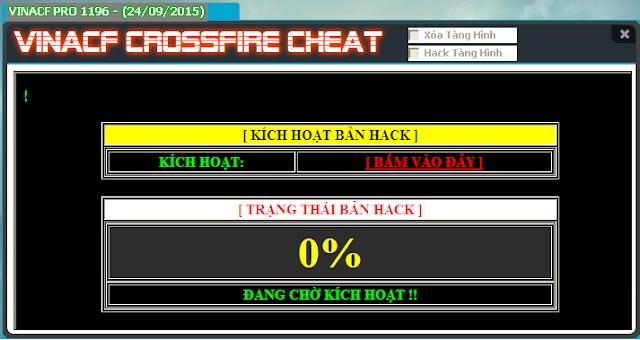 Download hack CF Vina hack dot kich mới nhất