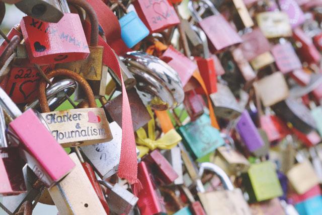 Love lock bridge Makartsteg Salzburg Harker Journalism