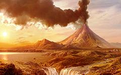Krakatoa Volcanic Eruption