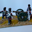 28mm French Old Guard Foot Artillery