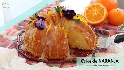 Cake de naranja natalia salazar