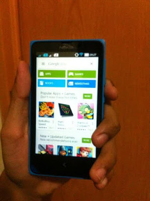 Cara Install Google Play Store di Nokia X
