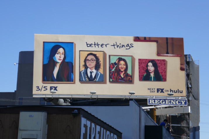 Better Things season 4 FX billboard