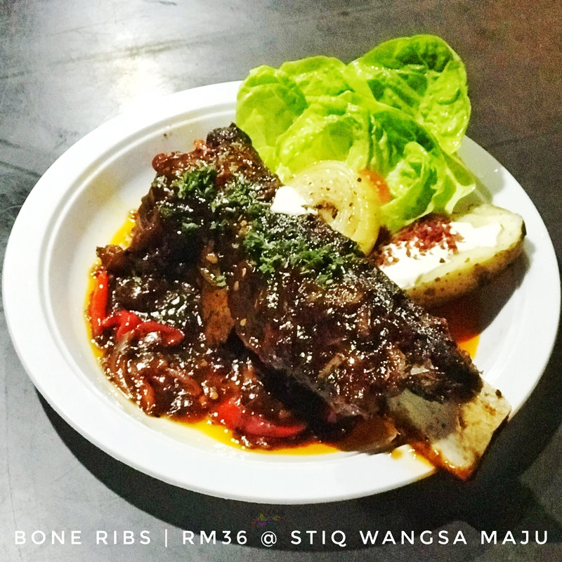 steak, premium steak, Rawlins Eats, Sous-vide, premium meat, the best steak in Kuala Lumpur, Stiq Wangsa Maju, the cheapest steak in Kuala Lumpur, striploin, bone ribs, shanks