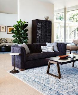 Ellen degeneres whitecliffe tufted sofa