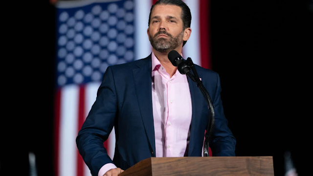 White House Says Biden Fell On 'Very Windy' Day. Donald Trump Jr: Technically, It Was A 'Moderate Breeze'