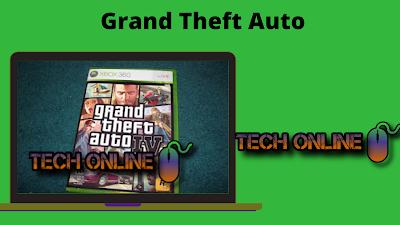 لعبة GTA - Grand Theft Auto