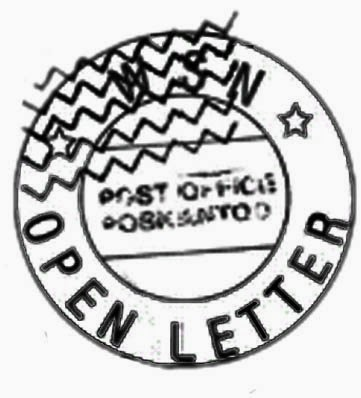 Monologues of Dissent: Open Letter of the Year: Scott