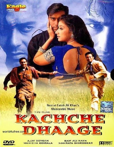 Kachche Dhaage 1999 DVDRip 350mb Download Watch Online