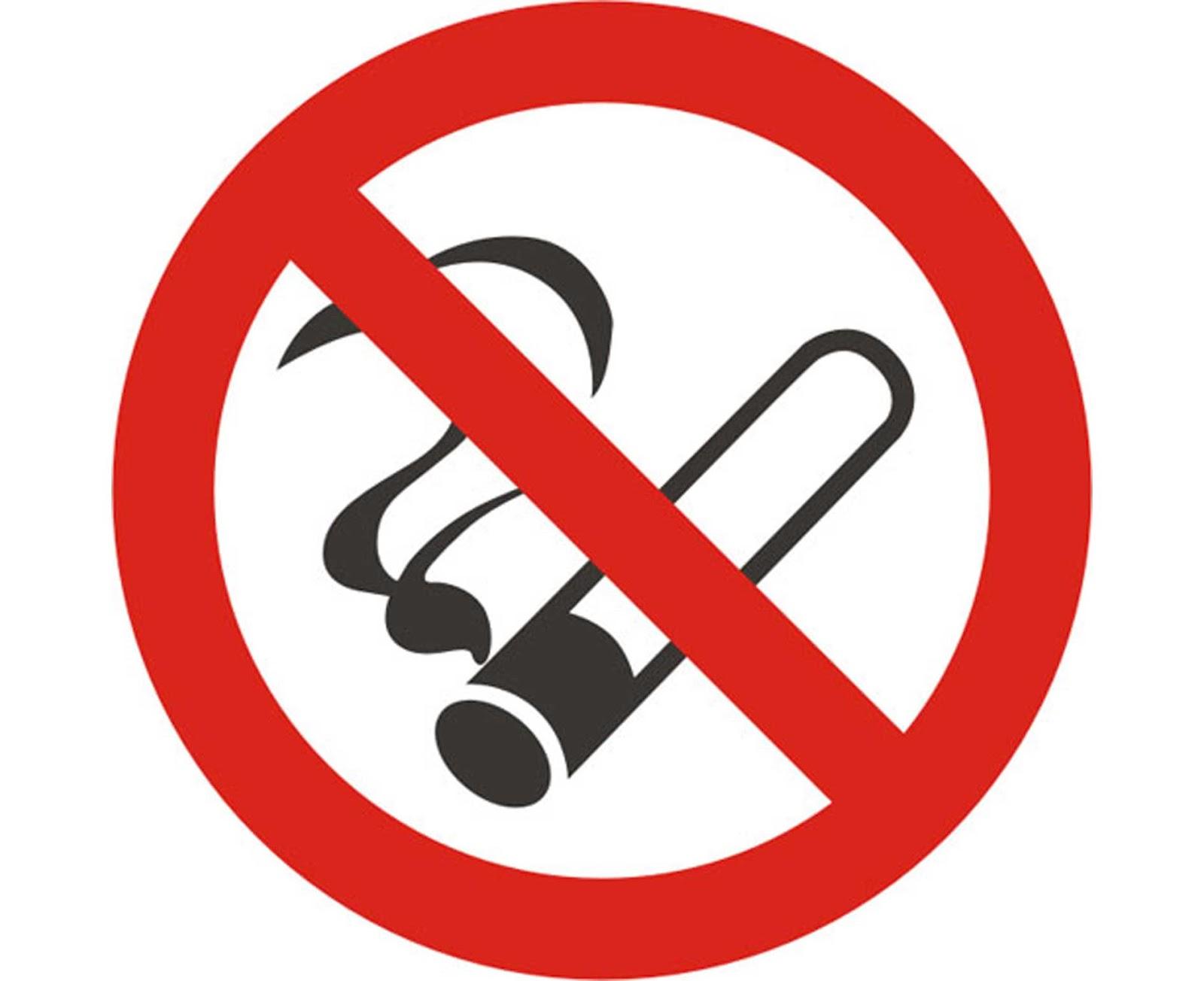 Mihardi77 Gambar Logo Simbol No Smoking Keren Abiis