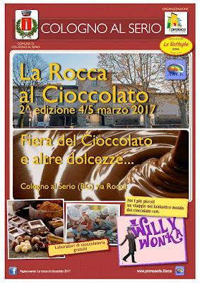 La Rocca al Cioccolato 4-5 marzo Cologno al Serio (BG) 2017