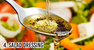 Salad Dressing menjadi Makanan ini paling bikin gemuk