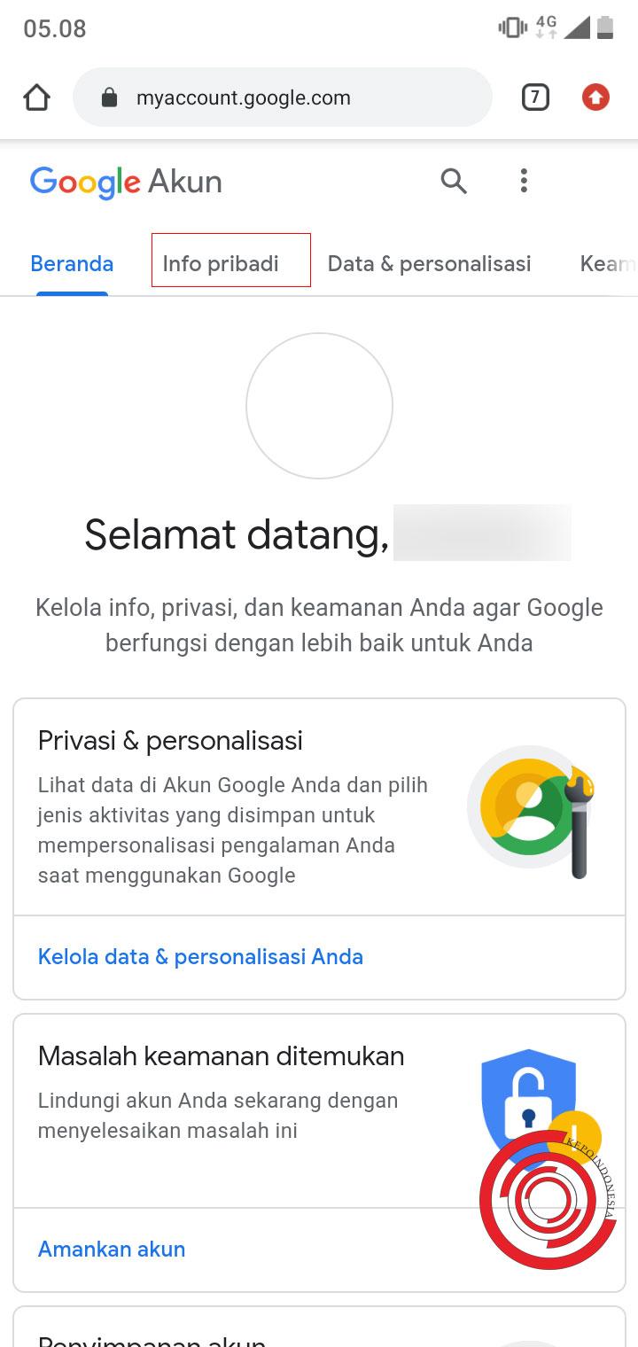 Cara Merubah Tanggal Lahir Di Akun Google Supaya 18 Tahun Kepoindonesia