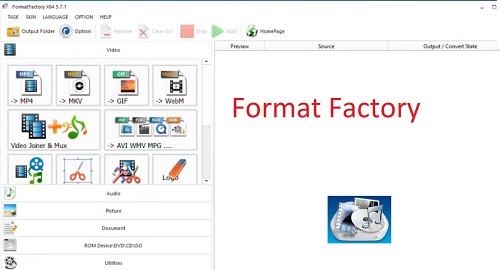 تحميل برنامج فورمات فاكتوري Format Factory 2021