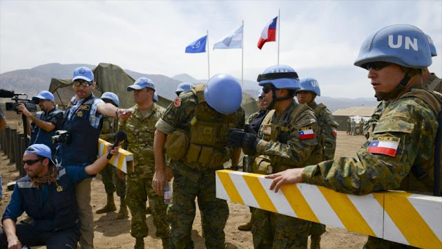 Macri pide armas a EEUU para militarizar sus fuerzas de paz