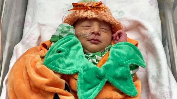 Babies in NICU Celebrate First Halloween With Adorable Costume Contest
