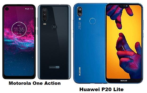 Motorola One Action Vs Huawei P20 Lite Specs Comparison