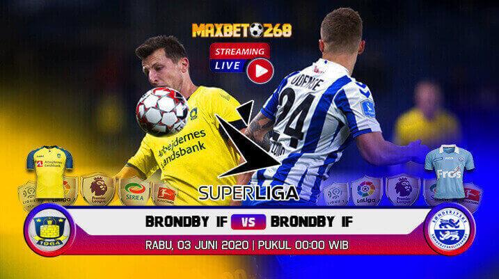 Prediksi Brondby IF Vs SonderjyskE 03 Juni 2020 Pukul 00.00 WIB
