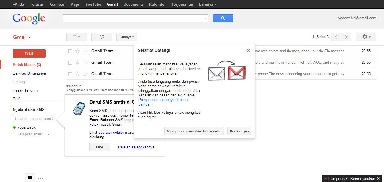 Cara Daftar Email di Gmail - KIOS PULSA - Distributor Agen