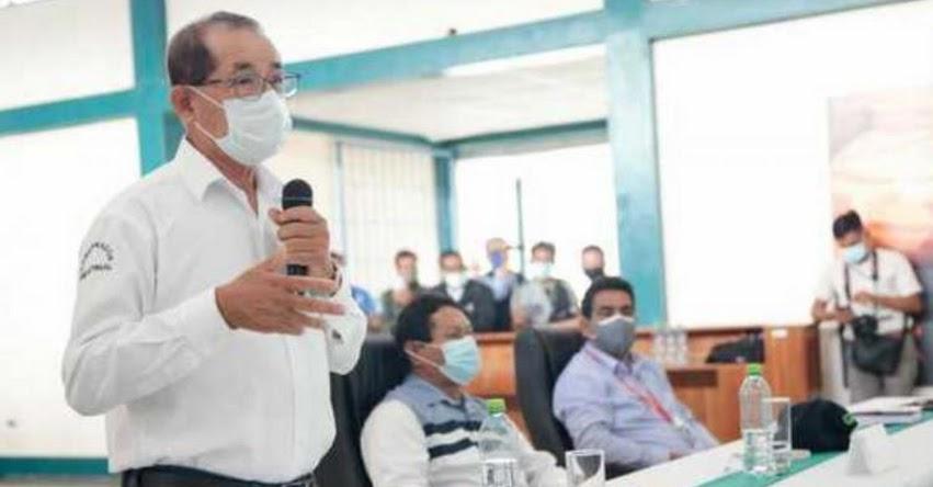 Autoridades de San Martín y Loreto piden al gobierno dar prioridad a carretera Moyobamba - Balsapuerto