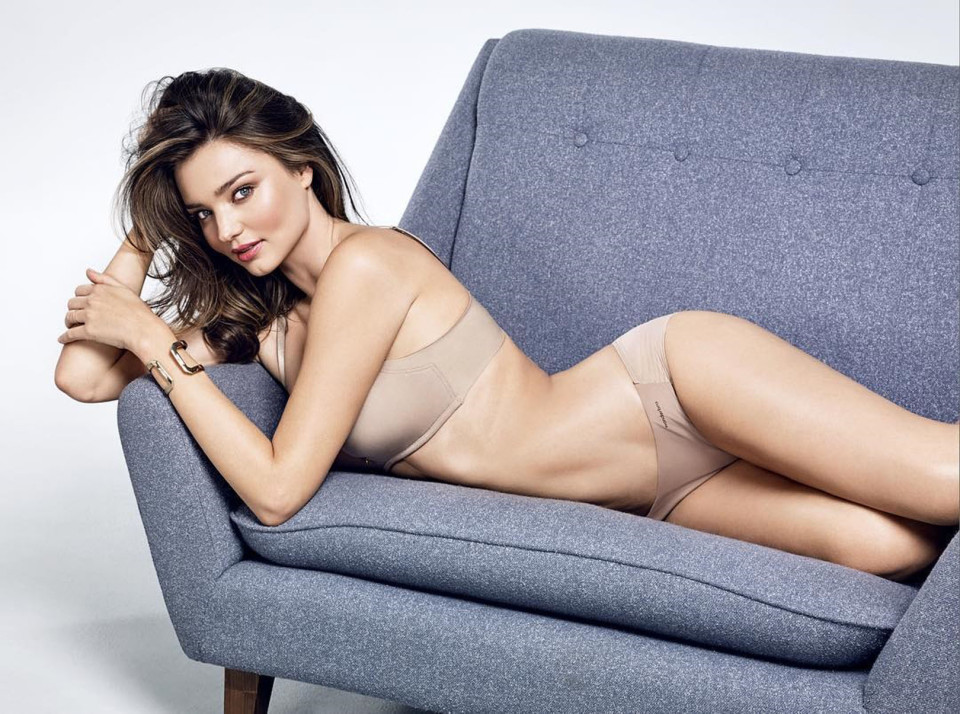 Miranda Kerr bares curves for Wonderbra Fall/Winter 2016 Campaign
