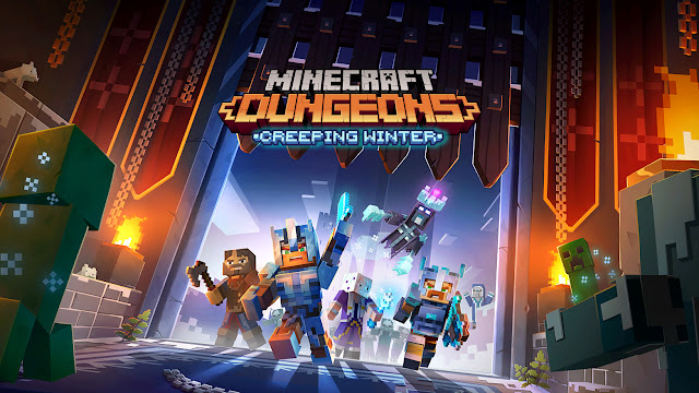Minecraft Dungeons: Creeping Winter
