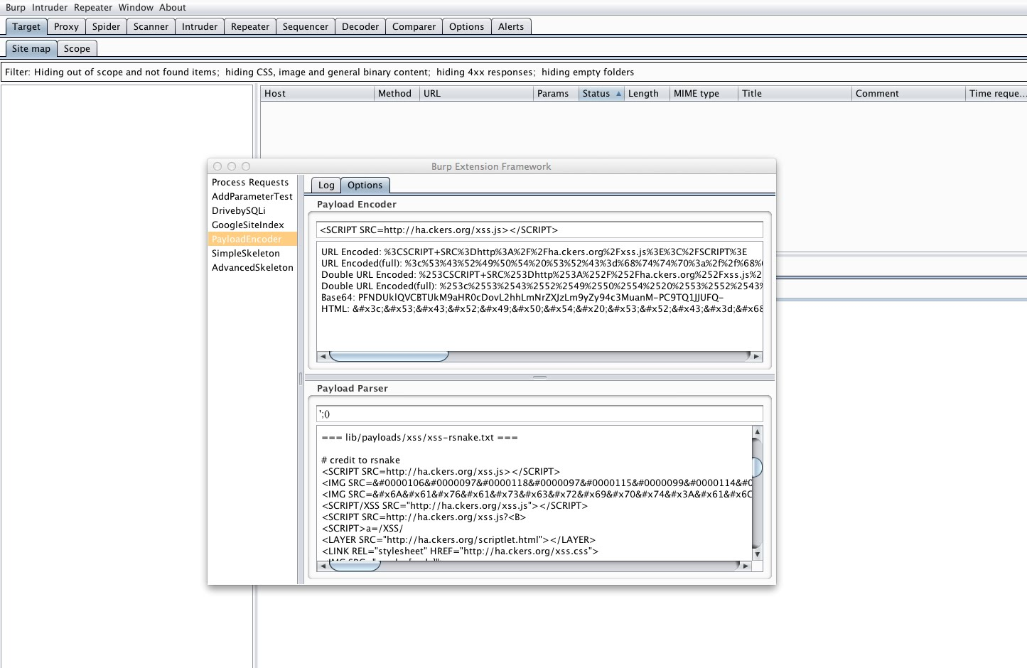 Occupy Burp Suite: Adding GUI features to an extension