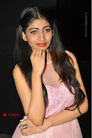 Actress Nidhisha Reddy Pos in Beautiful Pink Dress at Virus Telugu Movie Audio Launch .COM 0023.JPG
