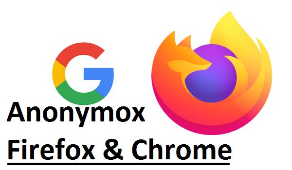 cara menggunakan anonymox di mozilla firefox dan google chrome