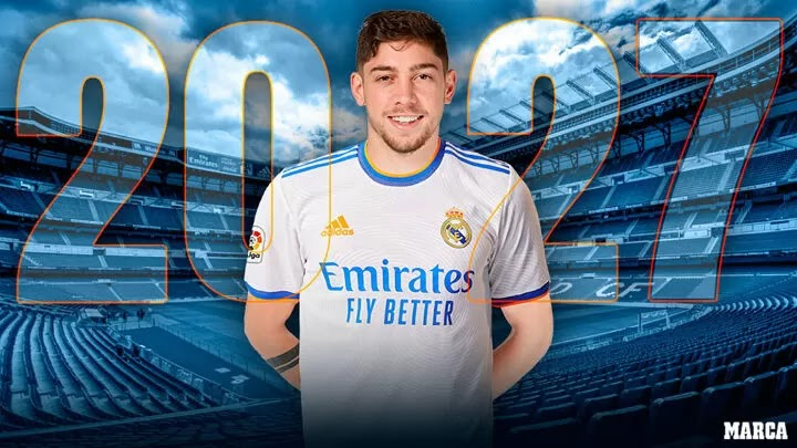 Official: Fede Valverde renews Real Madrid contract until 2027