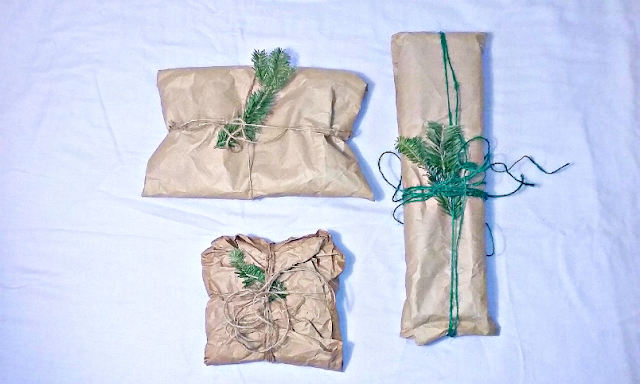 zero waste gift wrapping