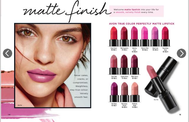 Avon's lipsticks