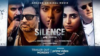 Nishabdham / Silence First Look Poster 7