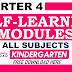4th Quarter Self-Learning Modules Kindergarten